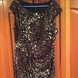 Dresses & Skirts - Cheetah print dress — stretchy! 👗